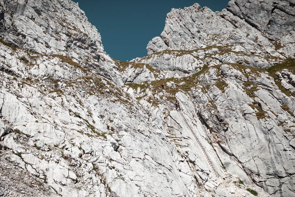Klettersteig Ferrata : Klettersteig speikboden via ferrata