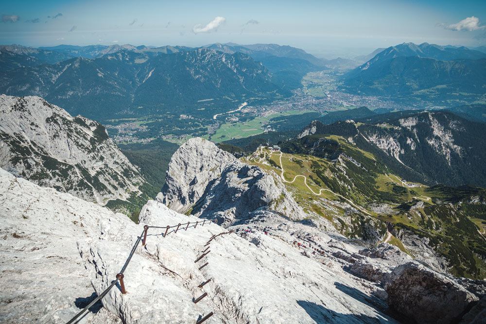 Klettersteig Ferrata : Alpspitz ferrata