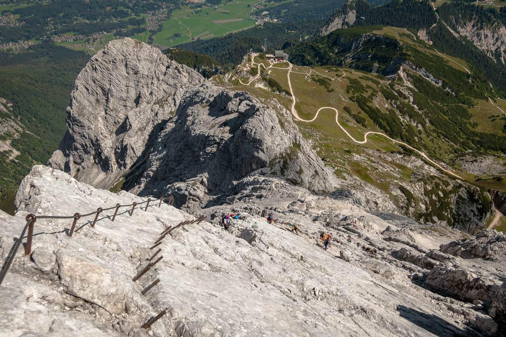 Klettersteig Alpspitze : Alpspitze